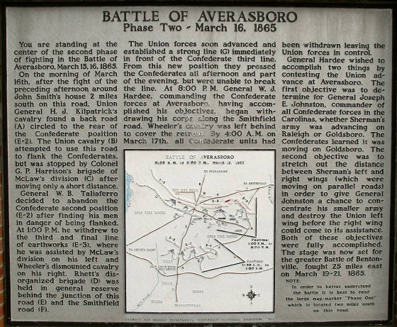 Battle of Averasboro Historical Marker.jpg