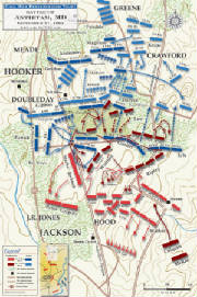 Battle of Antietam Mapjpg