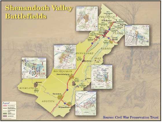Shenandoah Valley Civil War Battlefield Map.jpg