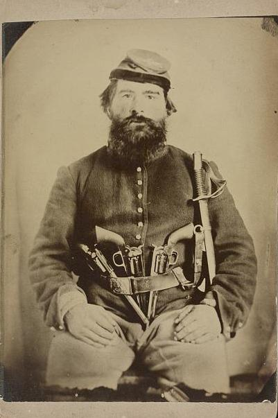 Civil War Cavalry with 3 Revolvers and Saber.jpg