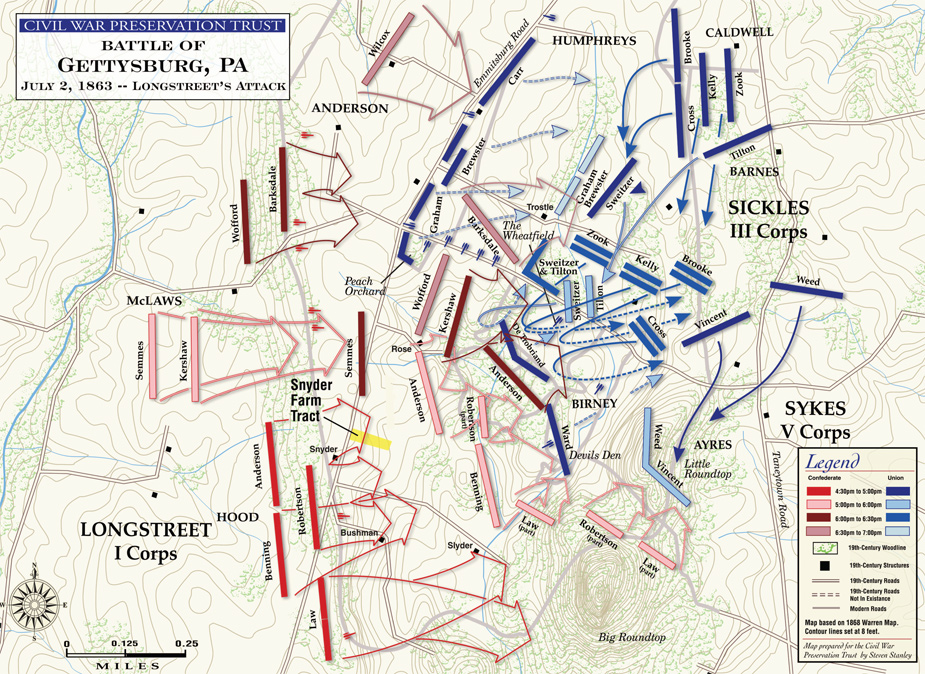 Longstreet's Assault, Battle of Gettysburg.jpg