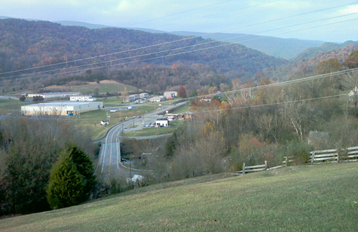 View of Union Approach at Battle of Saltville.jpg