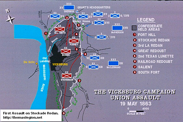 Vicksburg Campaign, Union Assault.jpg