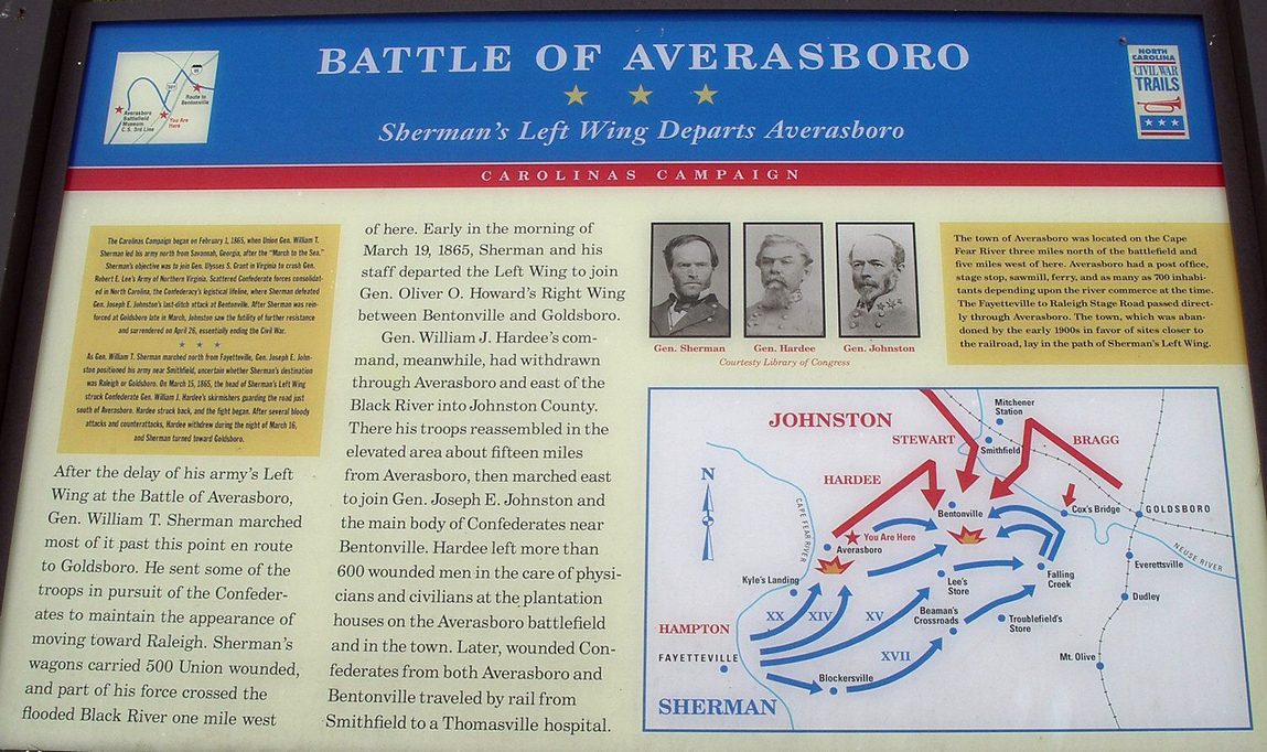 Battle of Averasboro and Carolinas Campaign.jpg