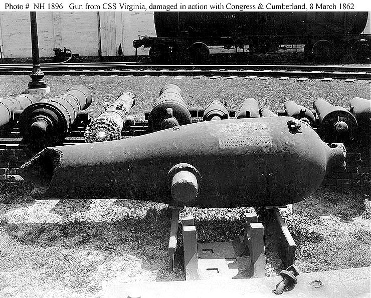 Damaged Dahlgren Gun from CSS Virginia.jpg