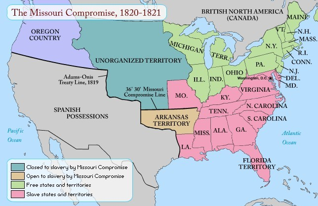 Compromise of 1850 Lesson for Kids Map.jpg
