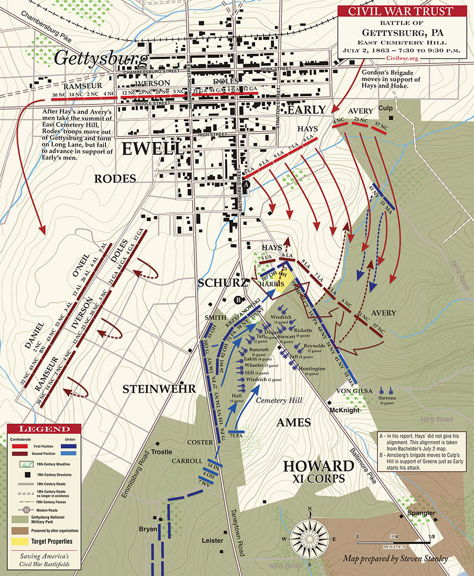 Battle of East Cemetery Hill, July 2, 1863.jpg