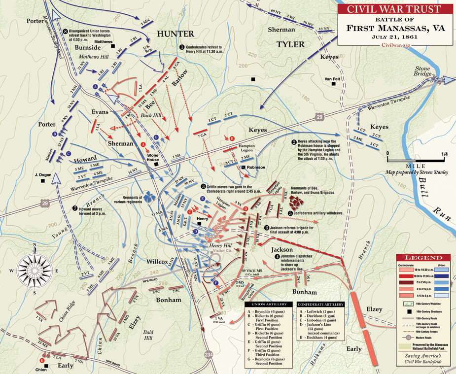 Civil War First Battle of Manassas Map.jpg