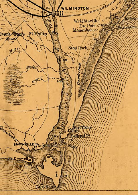 Fort Fisher North Carolina Map.jpg
