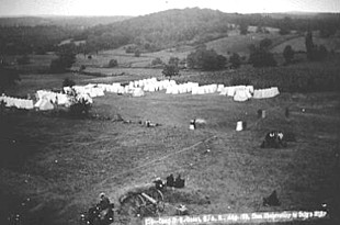 GAR Encampment on East Cemetery Hill in 1878.jpg