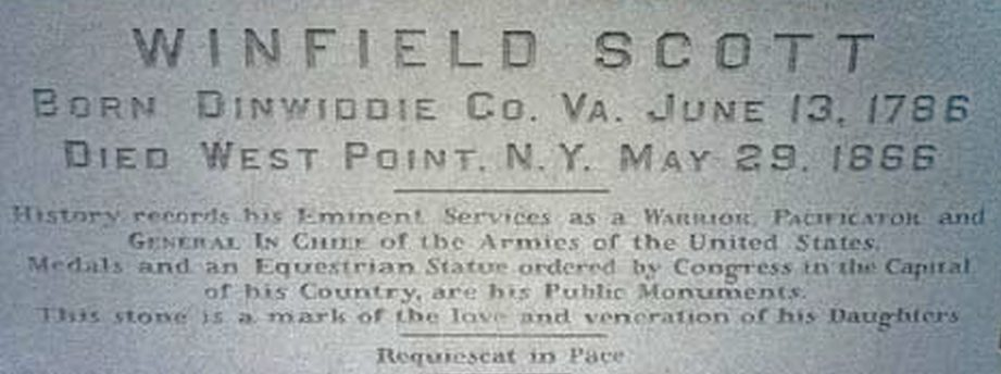 Cemetery and grave of Winfield Scott.jpg