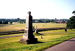 A modern day view of Gettysburg from Oak Ridge.jpg