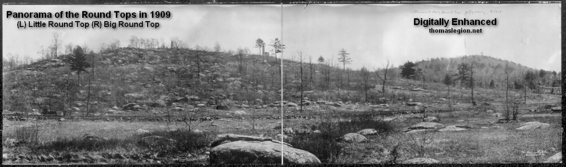 Panorama of the Round Tops in 1909.jpg