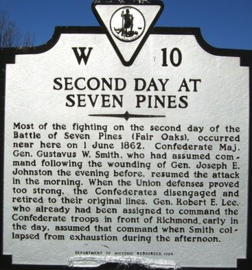 Second Day at Battle of Seven Pines Civil War.jpg