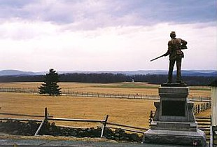 View of Seminary Ridge from Cemetery Ridge.jpg