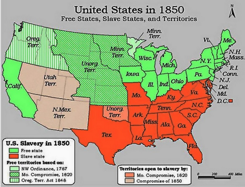 Slavery Compromise Map of 1850 States.jpg