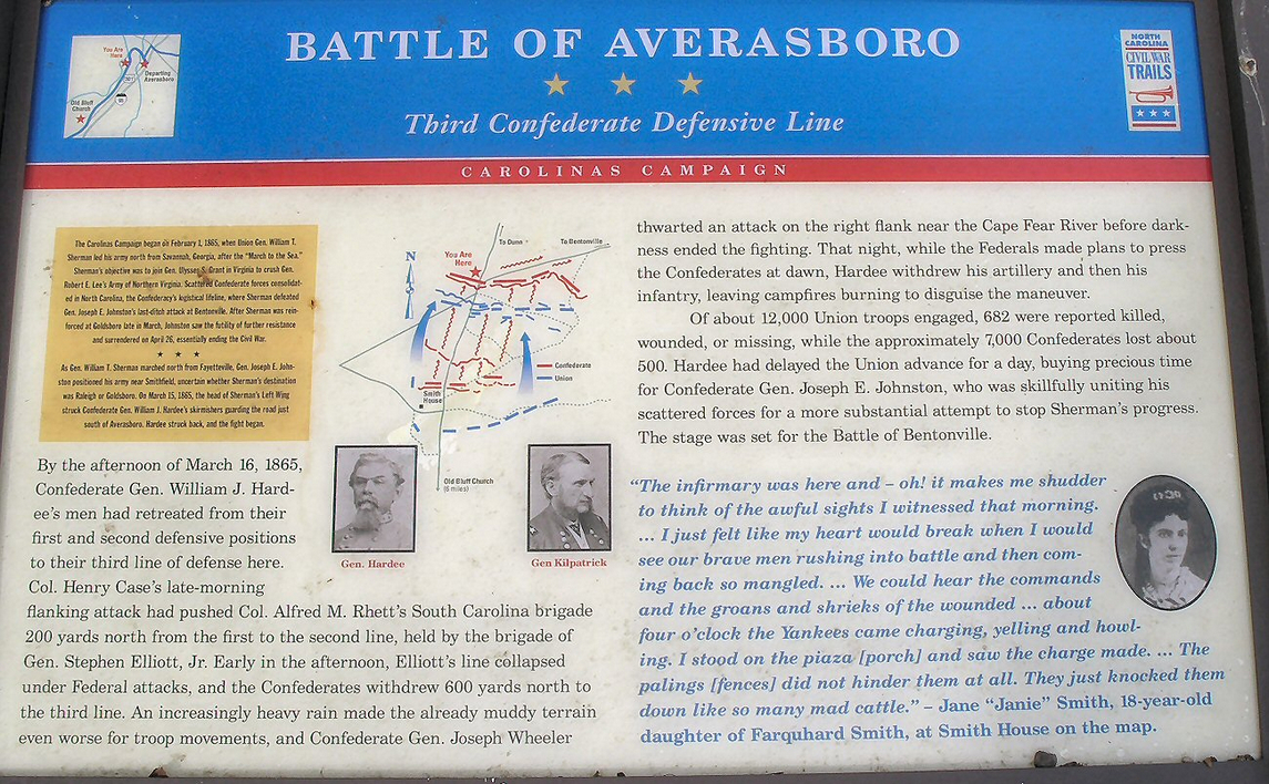Battle of Averasboro Interpretive Marker.jpg
